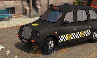 Parkowanie angielską taksówką 3D