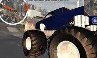 Miejska jazda monster truckiem