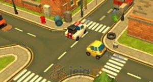 Miejski ruch uliczny 3D