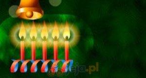 Świąteczne świeczki