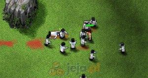 Kwadratowana strzelanka - wojny zombi