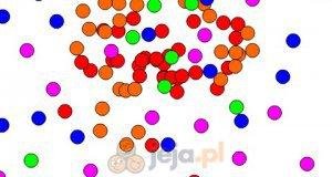 Kolorowe kropki