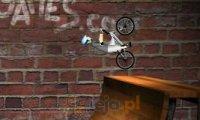 BMX na rampie