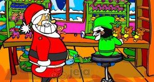 Święty Mikołaj w pułapce