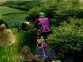 Zjazd rowerem górskim