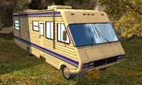 Parkowanie kamperem 3D