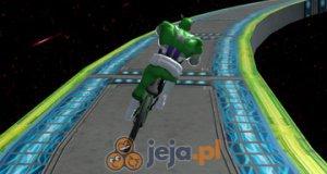 Superbohaterowie na rowerach w kosmosie