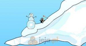 Pingwin z łukiem