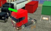 Parking dla ciężarówek 3D