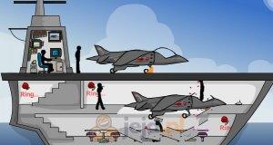 Kliknij i zabij: Lotniskowiec