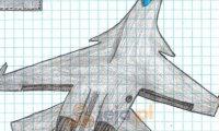 Rysunkowy samolot 2
