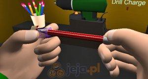 Symulator ostrzenia ołówka