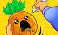 Ananas vs długopis