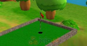 Mini golf na wysepkach