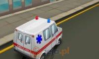 Ambulans na telefon 3D