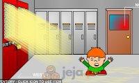 Ucieczka z płonącej szkoły