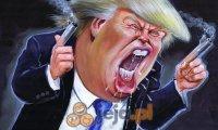 Śmieszna twarz Trumpa