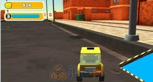 Symulator zabawkowego samochodu