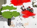 Kwadratowa strzelanka - świąteczny koszmar