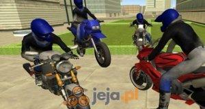 Motocyklista 3D