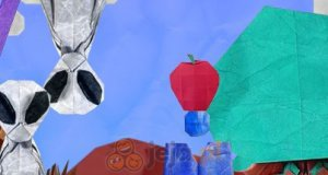 Papierowe jabłko