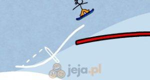 Przygody chłopca kreskówki: Snowboard