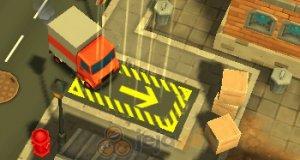 Błyskawiczny kurier: Parkowanie 3D