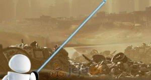 Wall-e i lasery