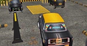 Parking dla taksówek 3D: Indie