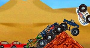 Atak monster trucków