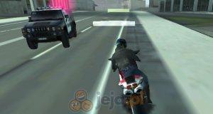 Motocykl kontra policja