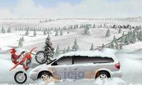 Zimowy jeździec