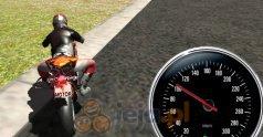 Symulator jazdy na motorze