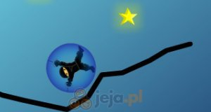 Ninja zbiera gwiazdki