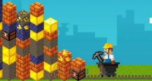 Minecraftowa złota ściana