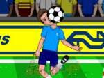 Piłkarska żonglerka kukiełką