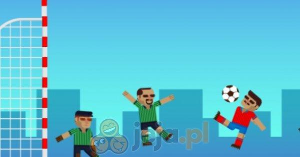 Fizyka w piłce nożnej HTML5