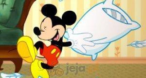 Myszka Miki i poduszki