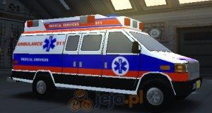 Ambulans: Trójwymiarowe parkowanie