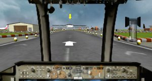 Parkowanie samolotów 3D