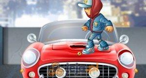 Symulator niszczenia samochodów
