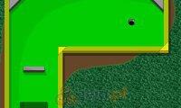 Minigolf z dinozaurami