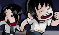 Luka i Lara porwani przed roboty