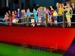 Zabawny czerwony dywan