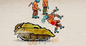 Szalony czołg w mieście zombie