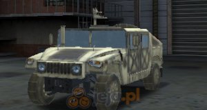 Wojskowy wóz: Trójwymiarowe parkowanie