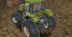 Trójwymiarowe parkowanie: Traktor farmera