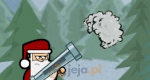 Mikołaj z wyrzutnią