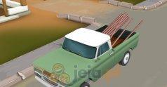 Amerykańska ciężarówka 3D