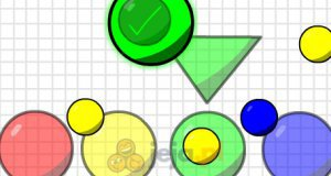 Kolorowa piłka